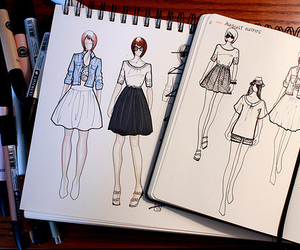 drawing, style, and art image