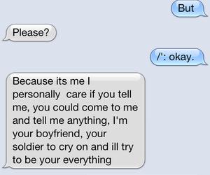 boyfriend, girlfriend, and text image