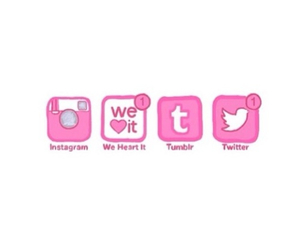 twitter, instagram, and tumblr image