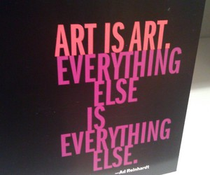 art and text image