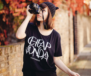 autmn, cheap monday, and girl image