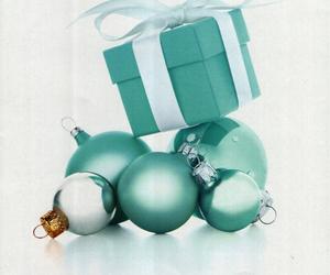christmas, gift, and tiffany image