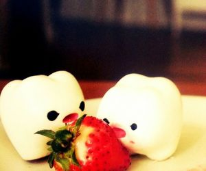 eating, my milk toof, and cute image
