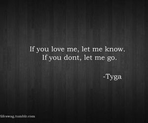 quote, love, and let me go image
