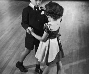 dance, black and white, and kids image