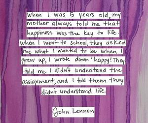 quote and john lennon image
