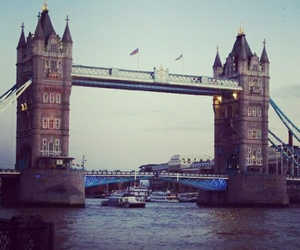 2012, london, and tower bridge image