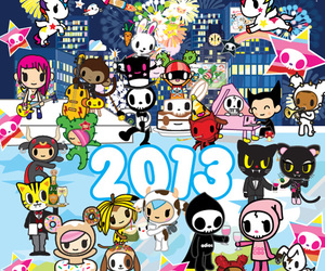 tokidoki and 2013 image