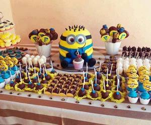 minions, sweet, and cake image