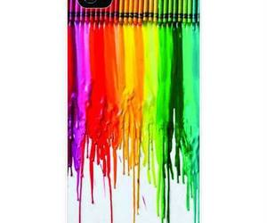 crayon, iphone, and case image