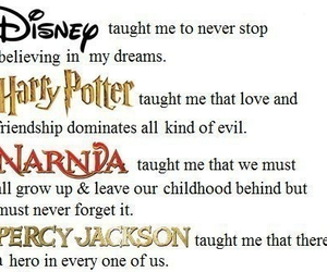 disney, harry potter, and narnia image