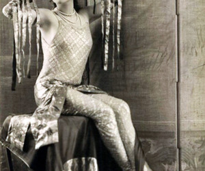 odalisque and vintage image