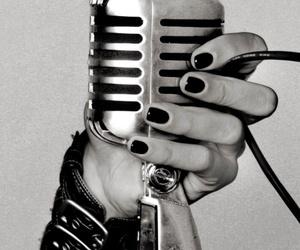 bill kaulitz, black and white, and music image