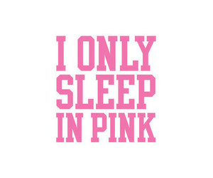 pink white sleep image