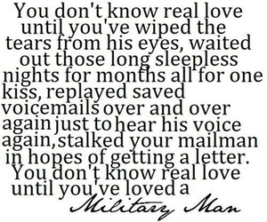 girlfriend, love, and military image