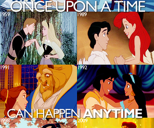 disney, princess, and once upon a time image
