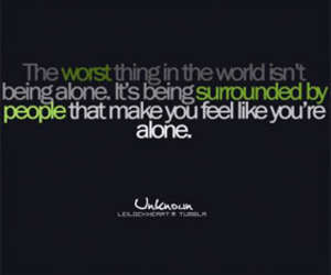 alone, being, and cry image