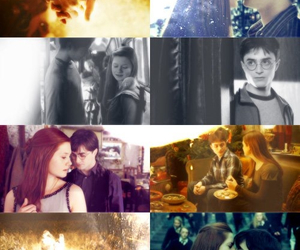 ginny weasley, harry potter, and hinny image