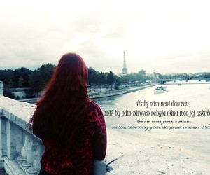 Dream, eiffel, and redhair image