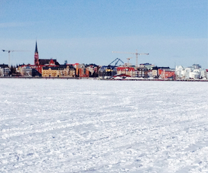 city, hometown, and ice image