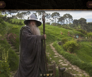 gandalf, lord of the rings, and hobbit image