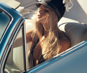 car, hat, and convertible image