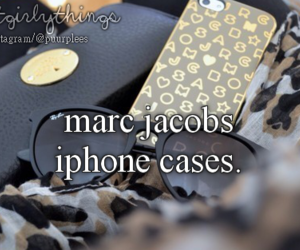 marc jacobs, marc jacobs case, and just girly things image