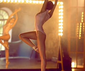 ballerina, dancing, and ballet image