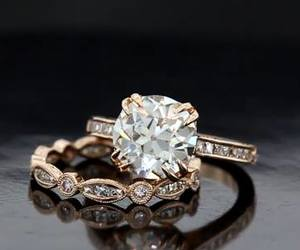 I DO, rings, and wedding image