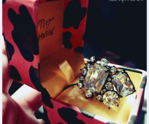 betsey johnson, jewelry, and ring image