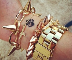 Braclet, jewlery, and watch image