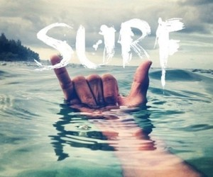 surf, water, and sea image