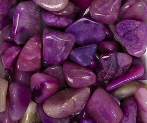 purple and stones image
