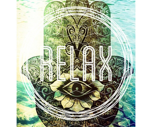 relax and hamsa image