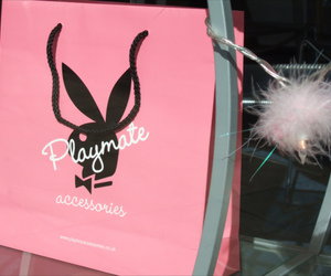Playboy, accessories, and pink image