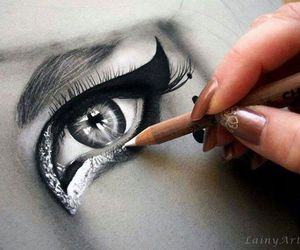 art, sketch, and beautiful image