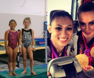 after, before, and gymnastics image