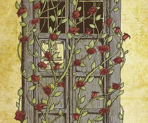 doctor who, fanart, and roses image