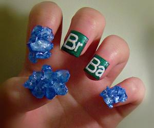 nails, breaking bad, and art image