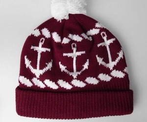 anchor, beanie, and outfit image