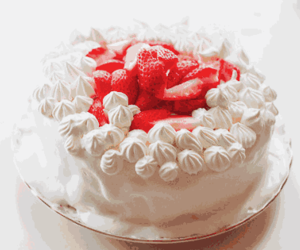 cake, pretty, and food image