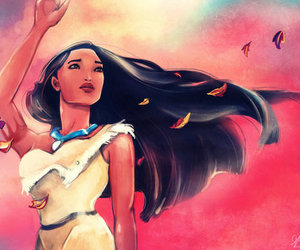 drawing, pocahontas, and colors of the wind image