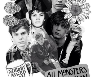 coven, evan peters, and handsome image