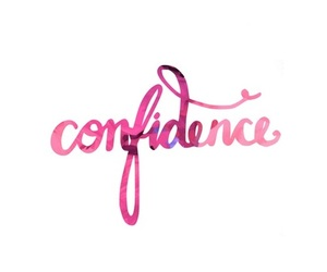 confidence and pink image
