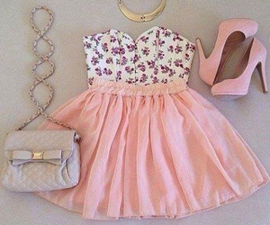beautiful, pink, and chic image