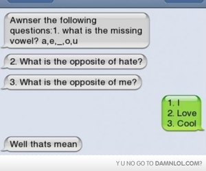 text, cool, and funny image