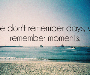 moment, days, and remember image