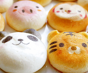 cute, food, and panda image