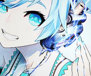 anime girl, electric, and girl image