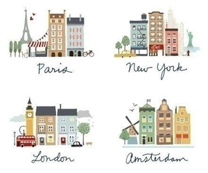 amsterdam, journey, and london image